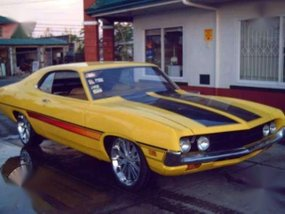 1971 Ford Torino I-6 250CID MT Yellow For Sale