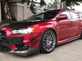 2008 Mitsubishi Evolution X MT Red For Sale