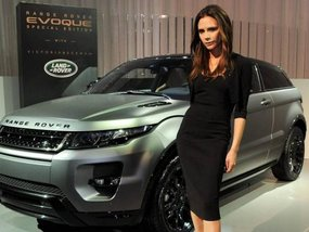 Range Rover Evoque as the most popular car among UK footballers