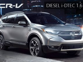 All-new diesel-powered Honda CR-V to come soon