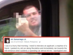 What happened to this impolite driver proves that karma strikes in time