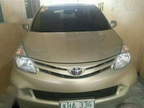 2014 Toyota Avanza 1.3 MT Beige For Sale
