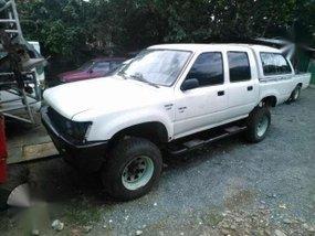 Toyota Hilux 1992 MT White Trucks For Sale