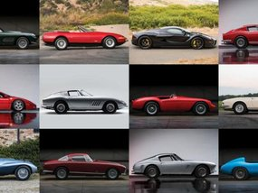 [Photo] Ferrari classic series to be put up for auction at Pebble Beach