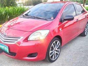 2010 Toyota Vios J MT Red Sedan For Sale
