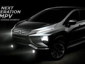 First images of the Mitsubishi XM Concept ahead of GIIAS 2017 tomorrow