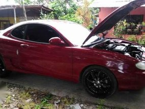 Hyundai Coupe 2 Doors 1997 AT Red For Sale