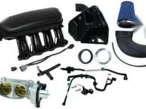 Ford Mustang GT Cobra Jet Intake power kit 2011 to 2017 negotiable.