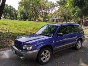 Subaru Forester AWD 2004