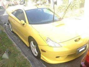 TOYOTA CELICA Gen 7 1999 MT Yellow For Sale