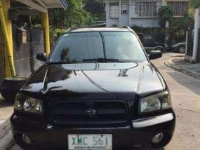 2004 Subaru Forester 2.0 X Black