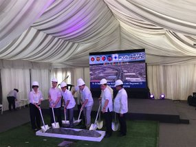 NLEX begins building the 2.6km R-10 section