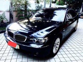 BMW 735 iL 2008 black color for sale