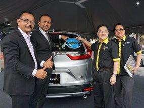 Honda CR-V scored 5-star rating from ASEAN NCAP