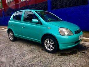 2001 Toyota Echo Yaris HB 1.3 MT Blue For Sale