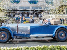 1929 Mercedes-Benz S Barker Tourer takes top award at Pebble Beach