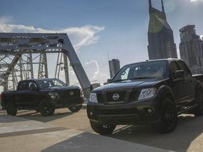 Nissan launches Midnight variant of the Frontier, Titan and Titan XD