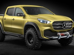 Are you excited to stroll around in a Mercedes X-Class?