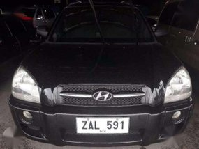 2005 Hyundai Tucson DSL Engine AT Black for sale