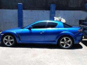 2003 Mazda RX-8 sedan blue for sale