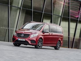 Mercedes-Benz introduces RISE and Limited Edition versions of the V-Class before Frankfurt launch