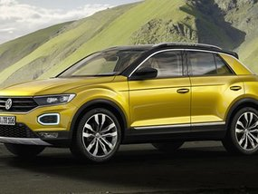 Volkswagen's T-Roc to enter the small crossover segment