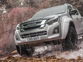 Isuzu D-Max Arctic AT35 trucks to come in October