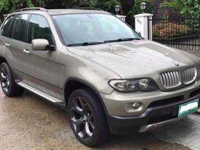 BMW X5 3.0i SUV silver for sale