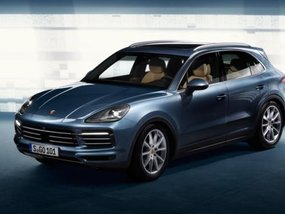 Leaked images of the 2018 Porsche Cayenne forward of global debut