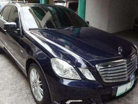 2010 Mercedes Benz e250 CGI Blue Efficiency