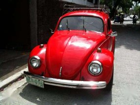 For Sale Bright Red 1979 1300 VW Beetle WITH AC and roof rack