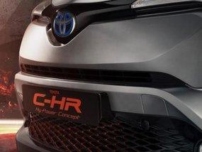 Toyota C-HR Hy-Power Concept & new Land Cruiser teased before Frankfurt