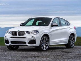 Admire 2019 BMW X4 without camouflage in the US