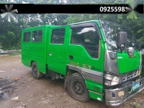 Isuzu Elf sobida double cab fb body for sale