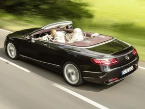 2018 Mercedes S-Class Cabriolet unveiled before Frankfurt