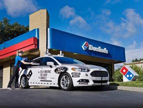 Your Domino's pizza to be delivered via driverless car soon