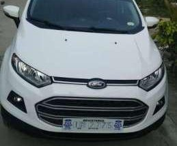 Ford Ecosport Trend 2017 MT White For Sale