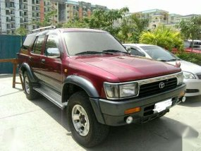 Toyota 4Runner Surf 2004 AT Red For Sale