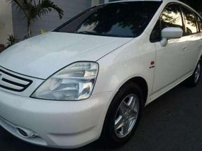 02 Honda stream hatchback white for sale