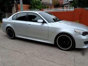 BMW 525i E60 M5 AT Silver For Sale