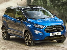 Ford made the EU-specs Ford EcoSport 2018 sportier