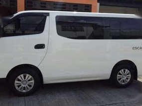 Nissan NV350 Escapade 2016