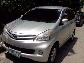 2012 Avanza 1.3E Manual Silver Toyota