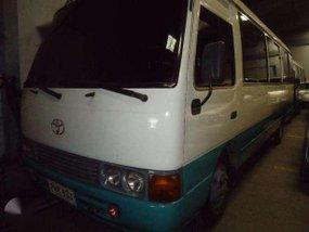 2001 Toyota Coaster Bus MT DSL White for sale