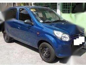 Blue Suzuki Alto Deluxe MT 2014 for sale