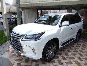 Lexus LX 570 2017 White AT For Sale