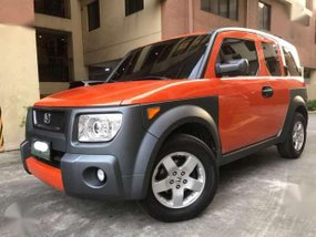 2005 Honda Element Matic Orange For Sale