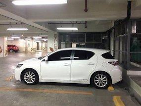 Lexus CT 200h 2013 WHITE FOR SALE