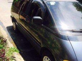 Toyota Estima 4x4 AT Blue Van For Sale