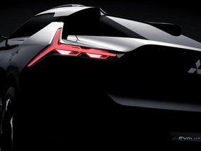 Sneak preview: Mitsubishi e-Evolution Concept